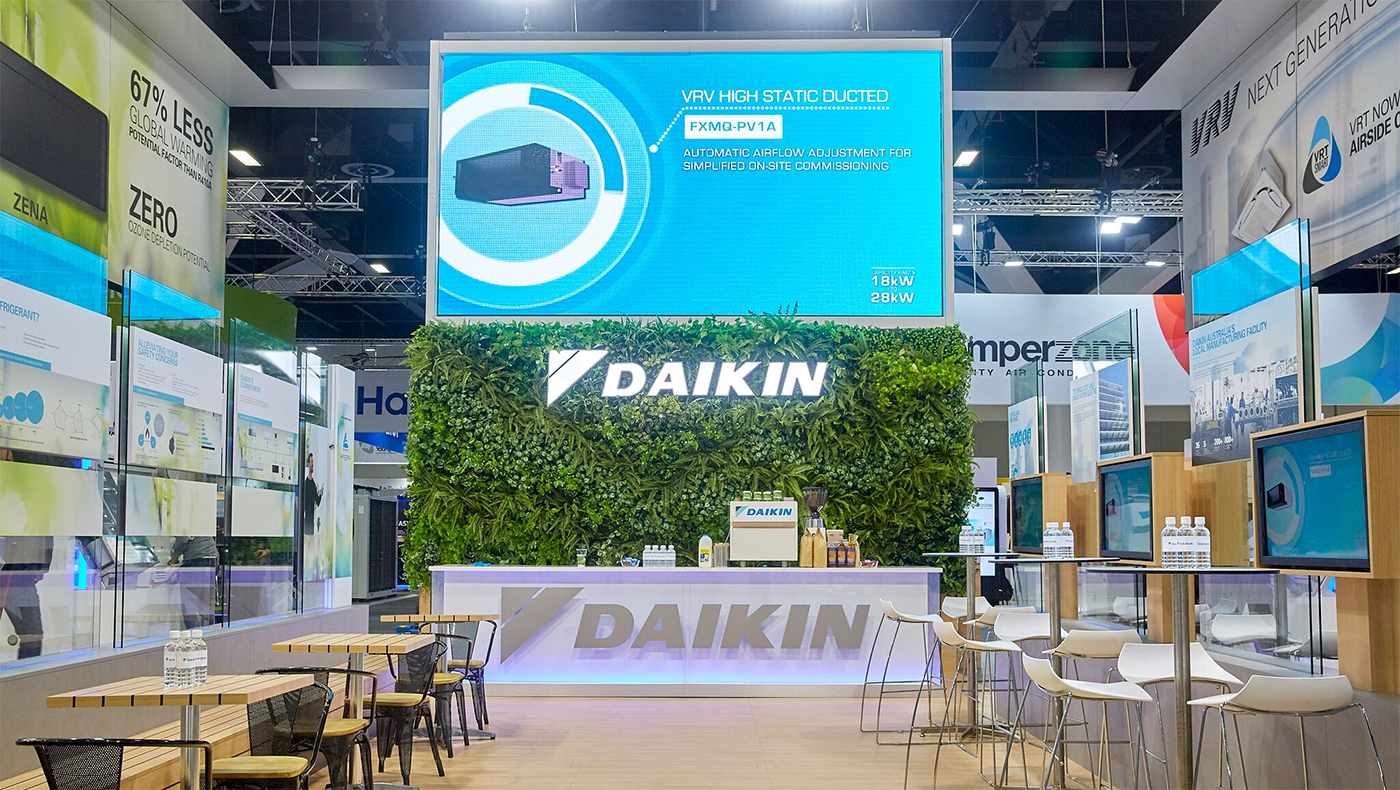 Complete coverage from Daikin at ARBS 2018