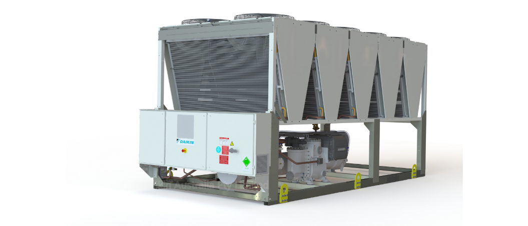 INVERTER R134A SCREW CHILLER